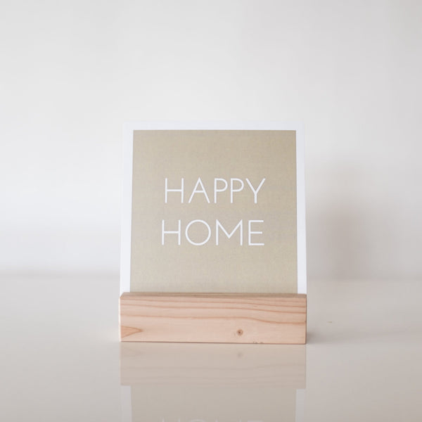 paperlove Neutral Happy Home Paper Prints