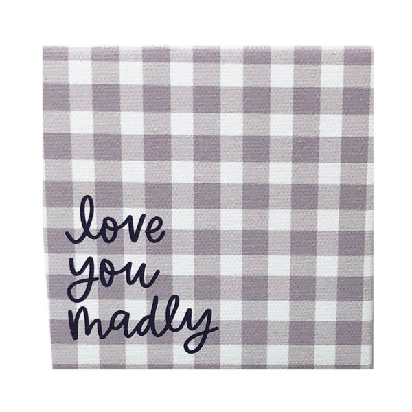Canvas Magnet Alexa Love you Madly