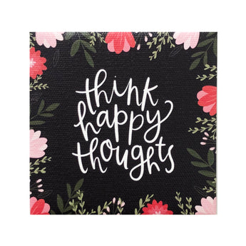 Canvas Magnet Alexa Think Happy Thoughts