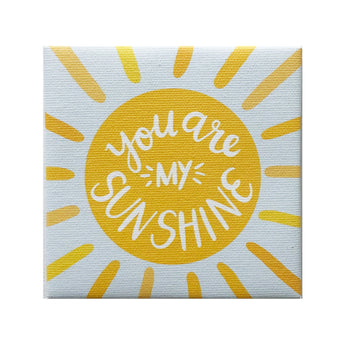 Canvas Magnet Alexa You are my Sunshine
