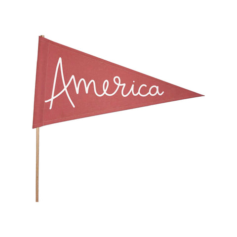 Fourth of July America Pendant Banner