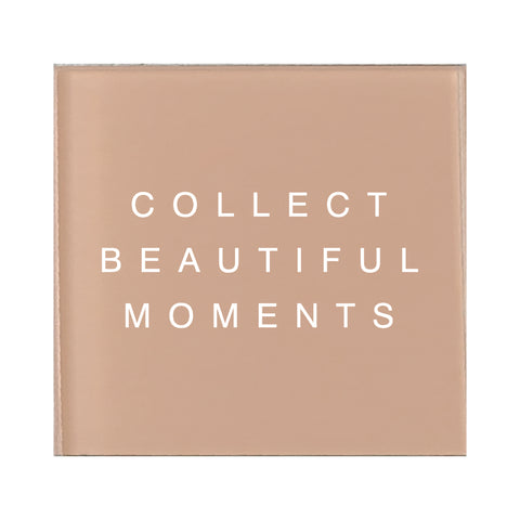 Glass Magnet Collect Beautiful Moments