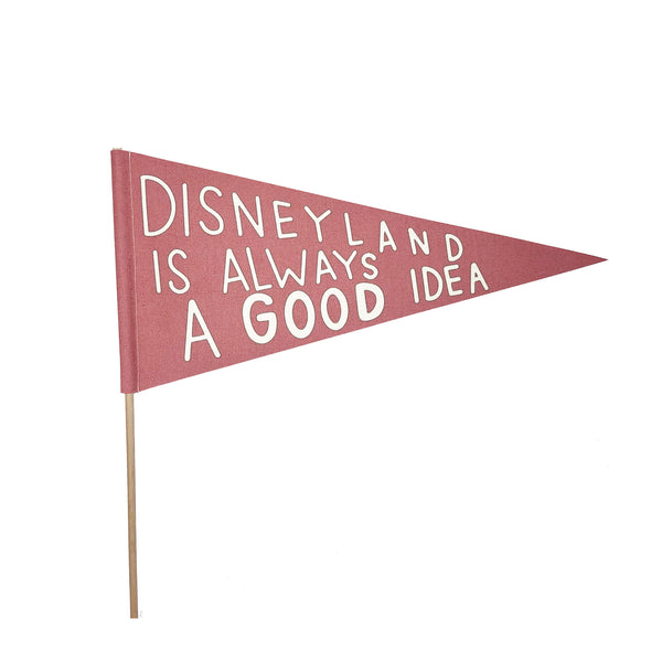 bannerlove Disneyland Good Idea Pendant Banner