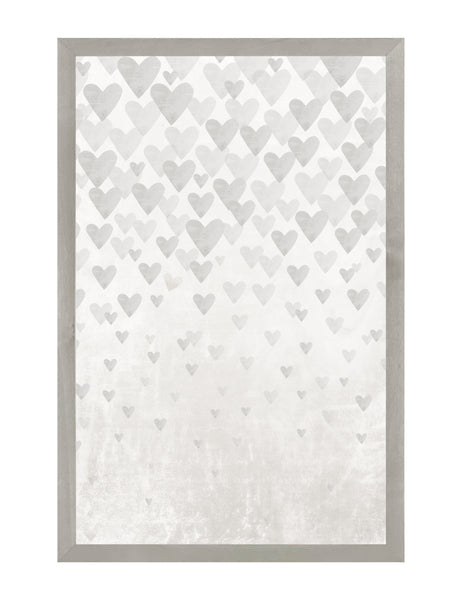 Farmhouse Gray Hearts