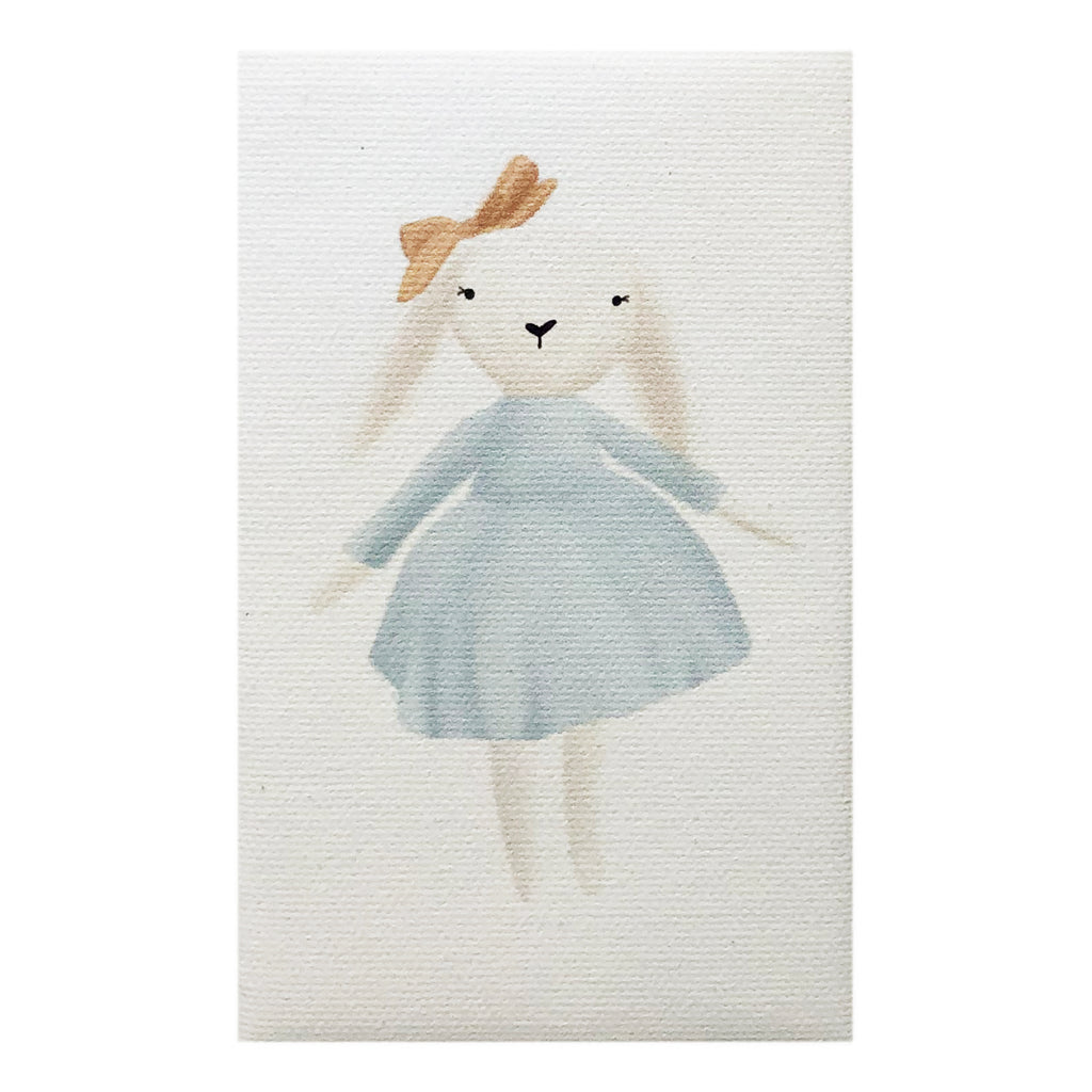 Canvas Magnet Kids Bunny