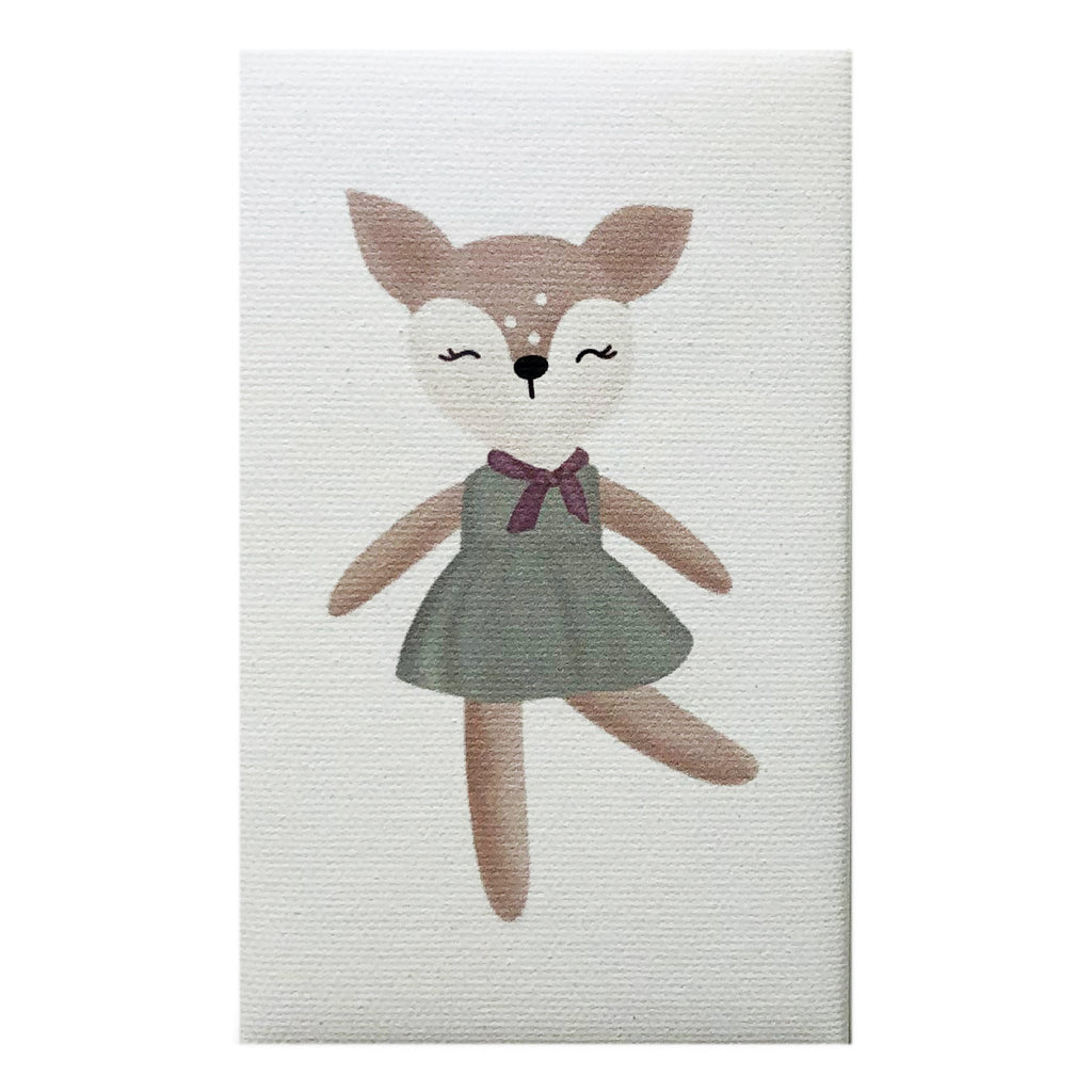 Canvas Magnet Kids Deer