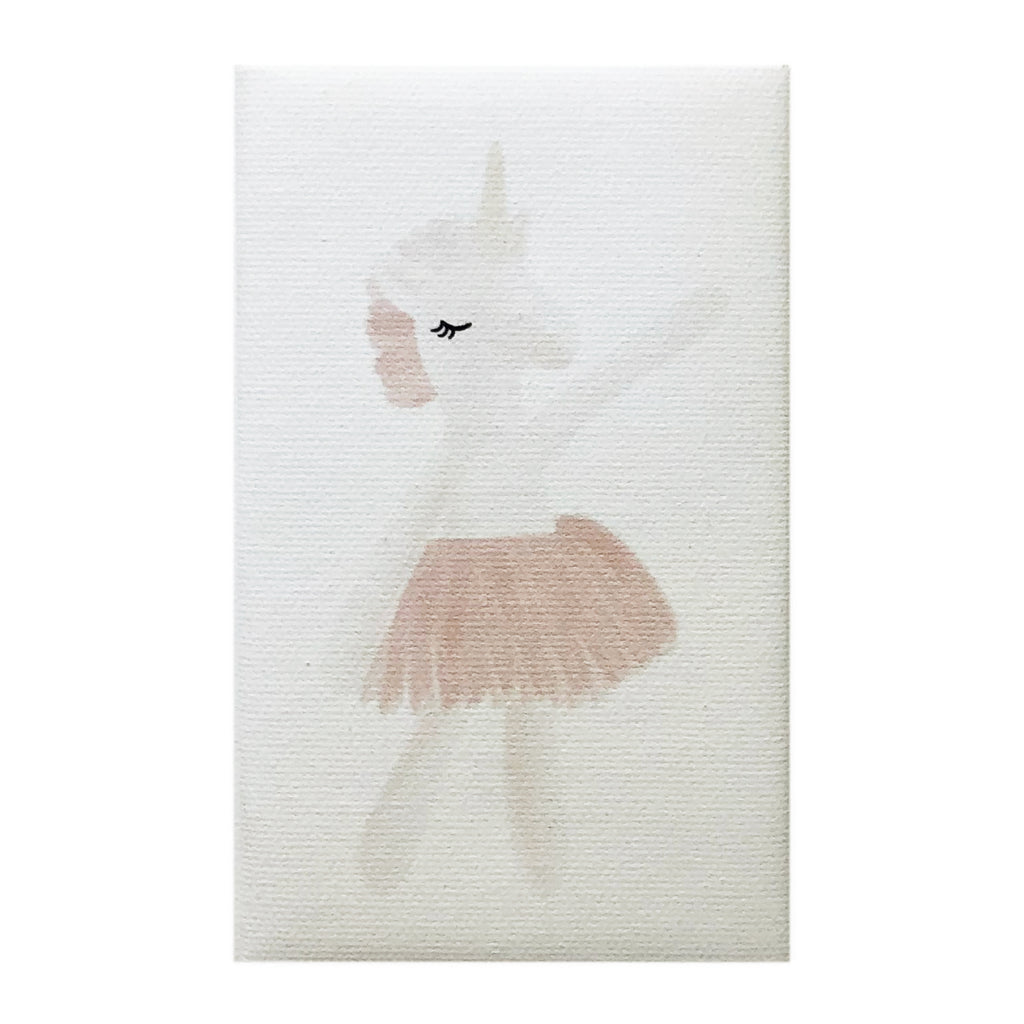 Canvas Magnet Kids Unicorn