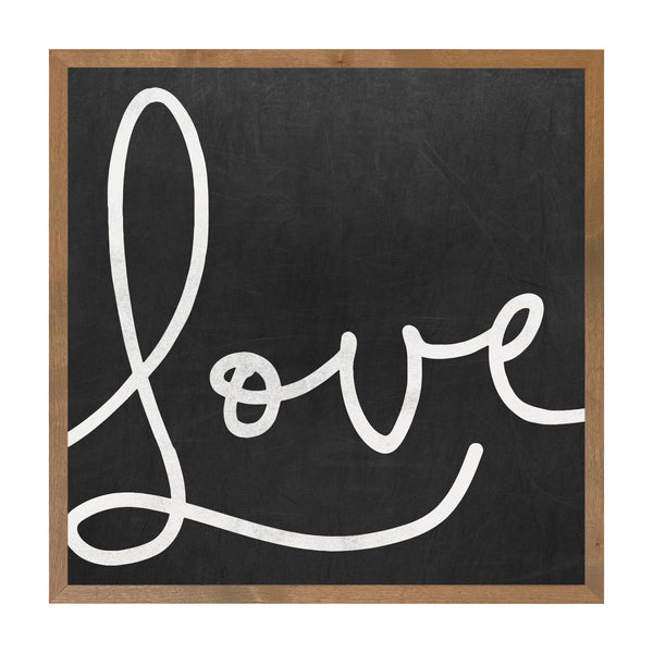Farmhouse Brown Love Script