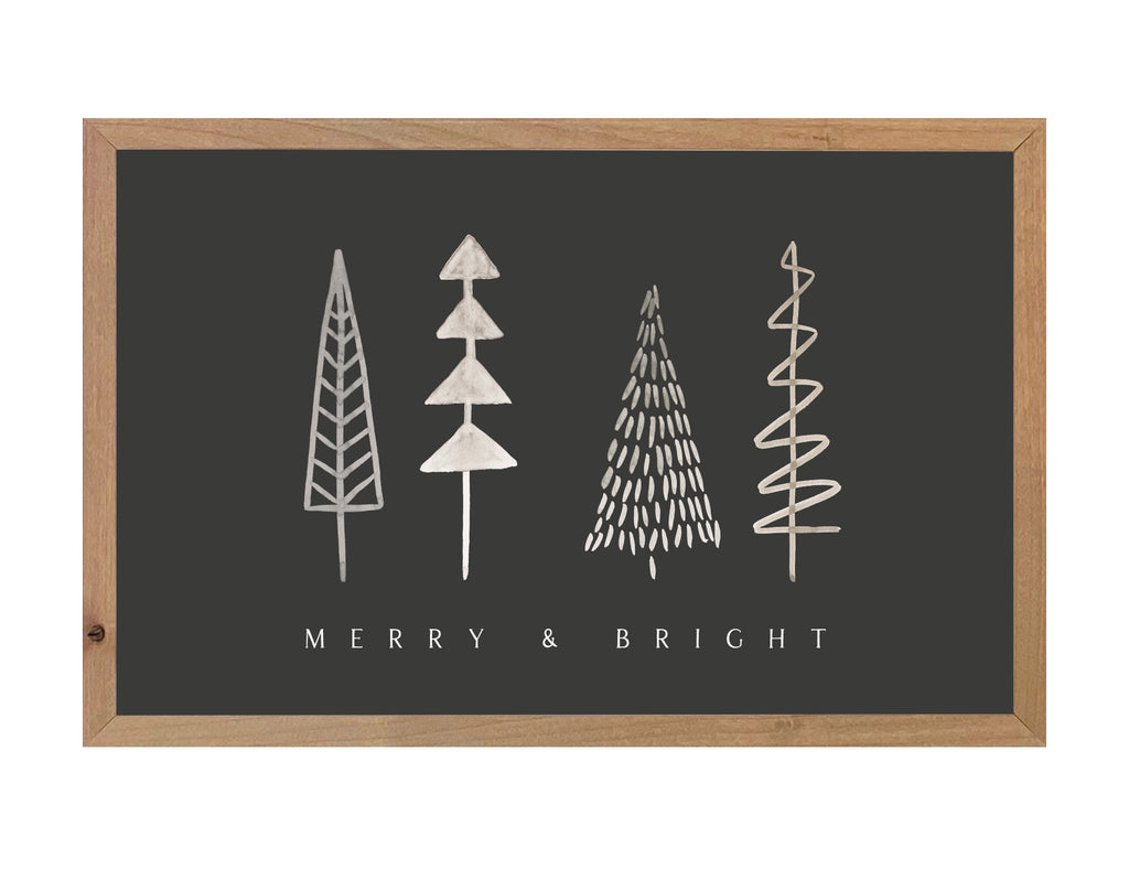 Merry & Bright Trees