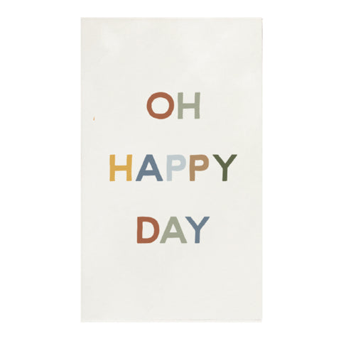 Canvas Magnet Oh Happy Day