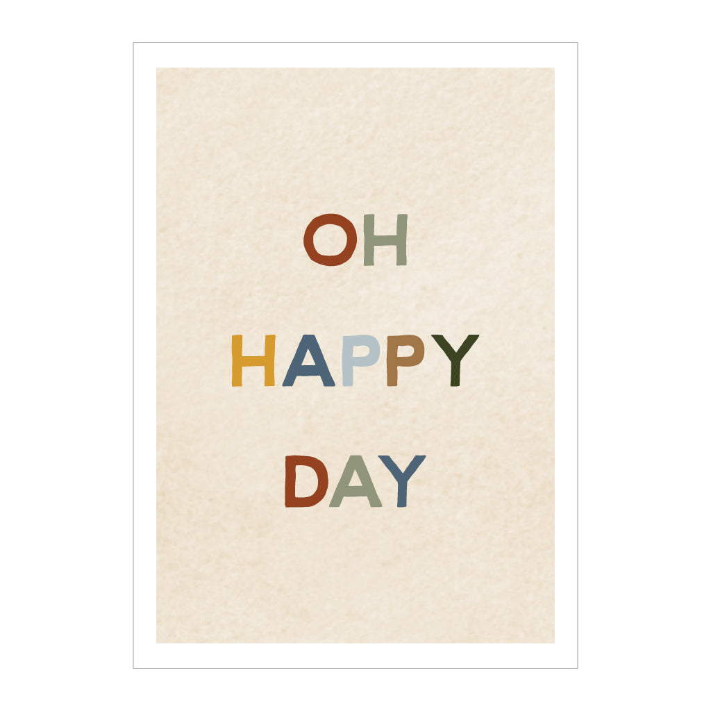 paperlove Oh Happy Day Card