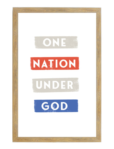 Fourth of July One Nation Under God