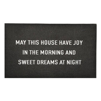 Canvas Magnet Rustic Chalkboard Look May This House