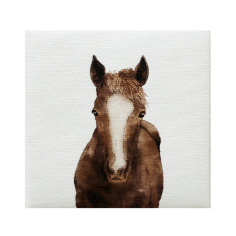 Canvas Magnet Rustic Horse