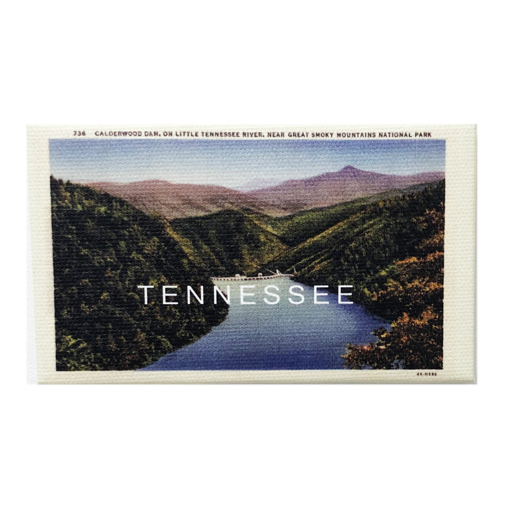 Canvas Magnet Souvenir Tennessee