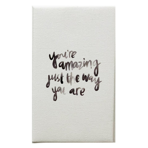 Canvas Magnet Kids Watercolor You're Amazing