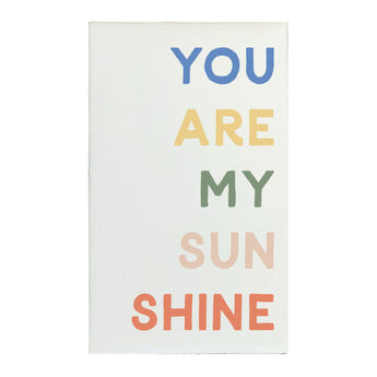 Canvas Magnet You Are My Sunshine