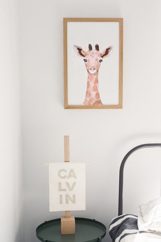 Baby Jungle Animals Giraffe Face