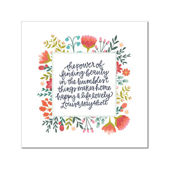Petal Lane paperlove paper print Alexa The Power of Finding Beauty