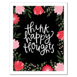 Petal Lane paperlove paper print Alexa Think Happy Thoughts