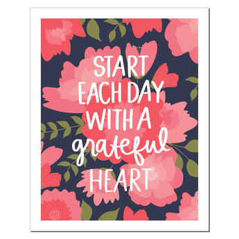 Petal Lane paperlove paper print Alexa Start Each Day