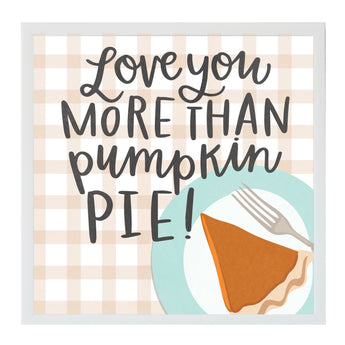 Petal Lane Home Alexa Pumkin Pie Magnet Board Fall Holidays