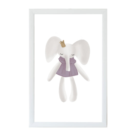 Petal Lane Home Young Kids Elephant Magnet Board