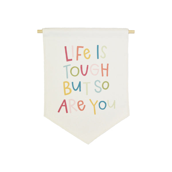 bannerlove Alexa Life is Tough Hanging Banner