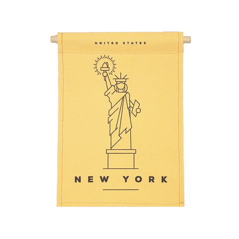 NEW bannerlove Modern New York Hanging Banner