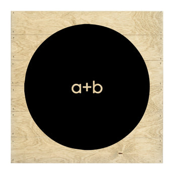 New Real Wood Custom Initials Silhouette Cut-Out Slat Board