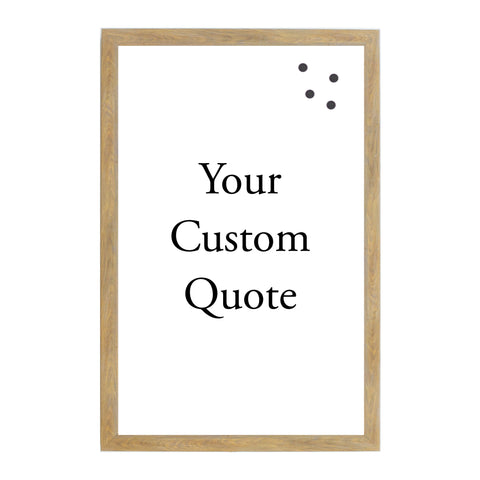 Custom Quote, Name, Letters, or Initials in Font 1
