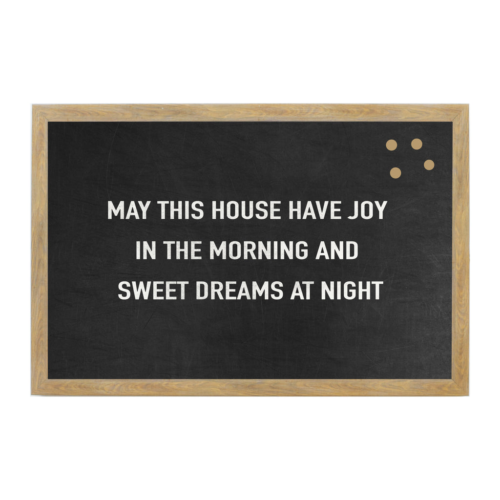 Chalkboard May This House