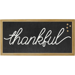 Chalkboard Thankful