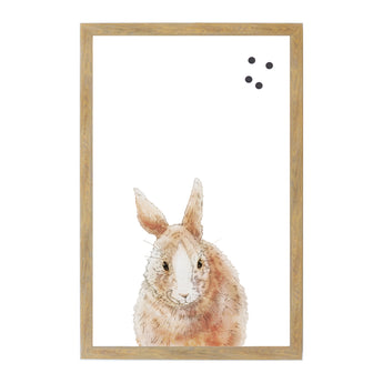 Petal Lane Home Farm House Rabbit Artwork Animal Magnet Board