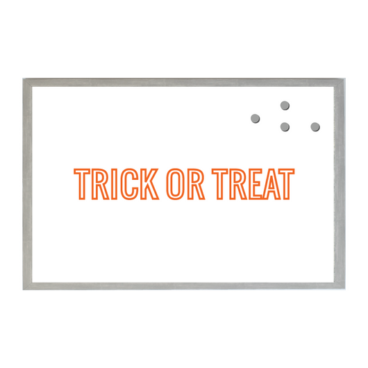 Halloween Trick or Treat Outlined Seasonal Magnet Board