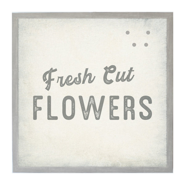 Vintage Spring Fresh Cut Flowers
