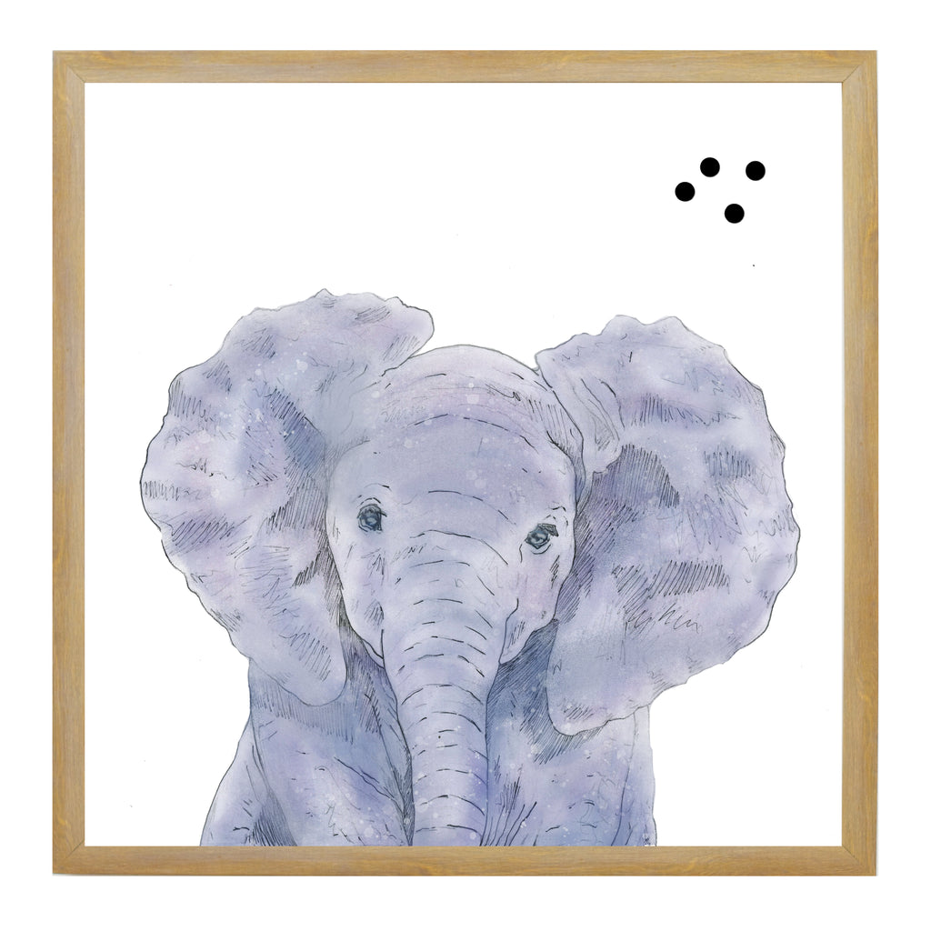 Baby Jungle Animals Elephant Face