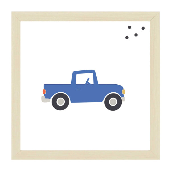 Natural Kids Blue Truck