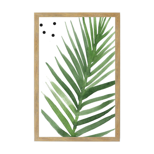 New Rustic Brown Tropical Plants Parlor Palm Magnet Board