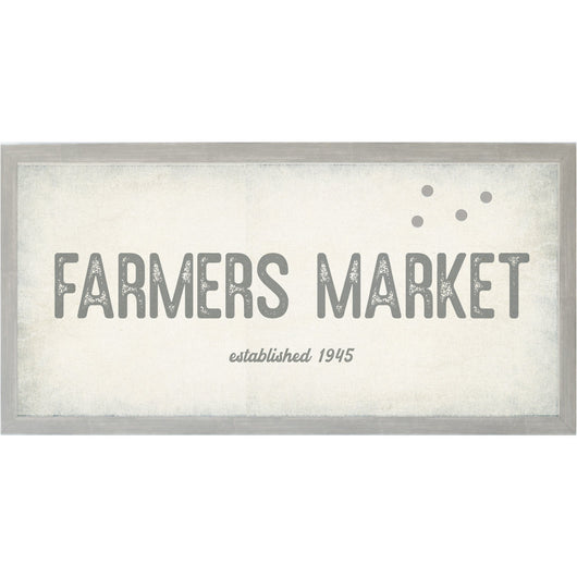 Petal Lane Home Vintage Farmers Market Magnet Board Farm House Style