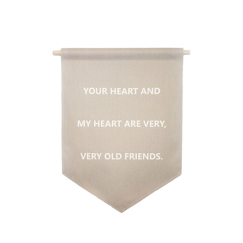 bannerlove Your Heart and My Heart Hanging Banner
