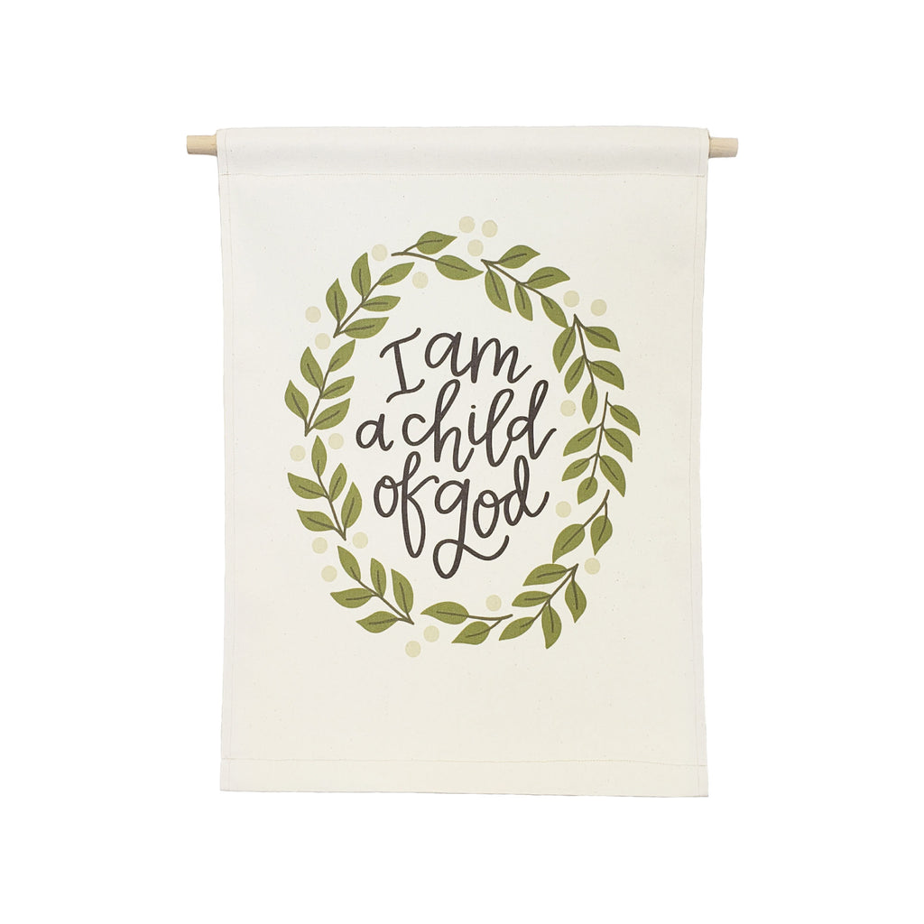 bannerlove Alexa I am a Child of God Hanging Banner
