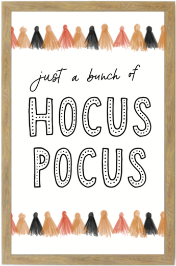 Just a Bunch of Hocus Pocus