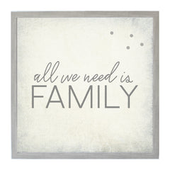 Vintage All We Need Is Family