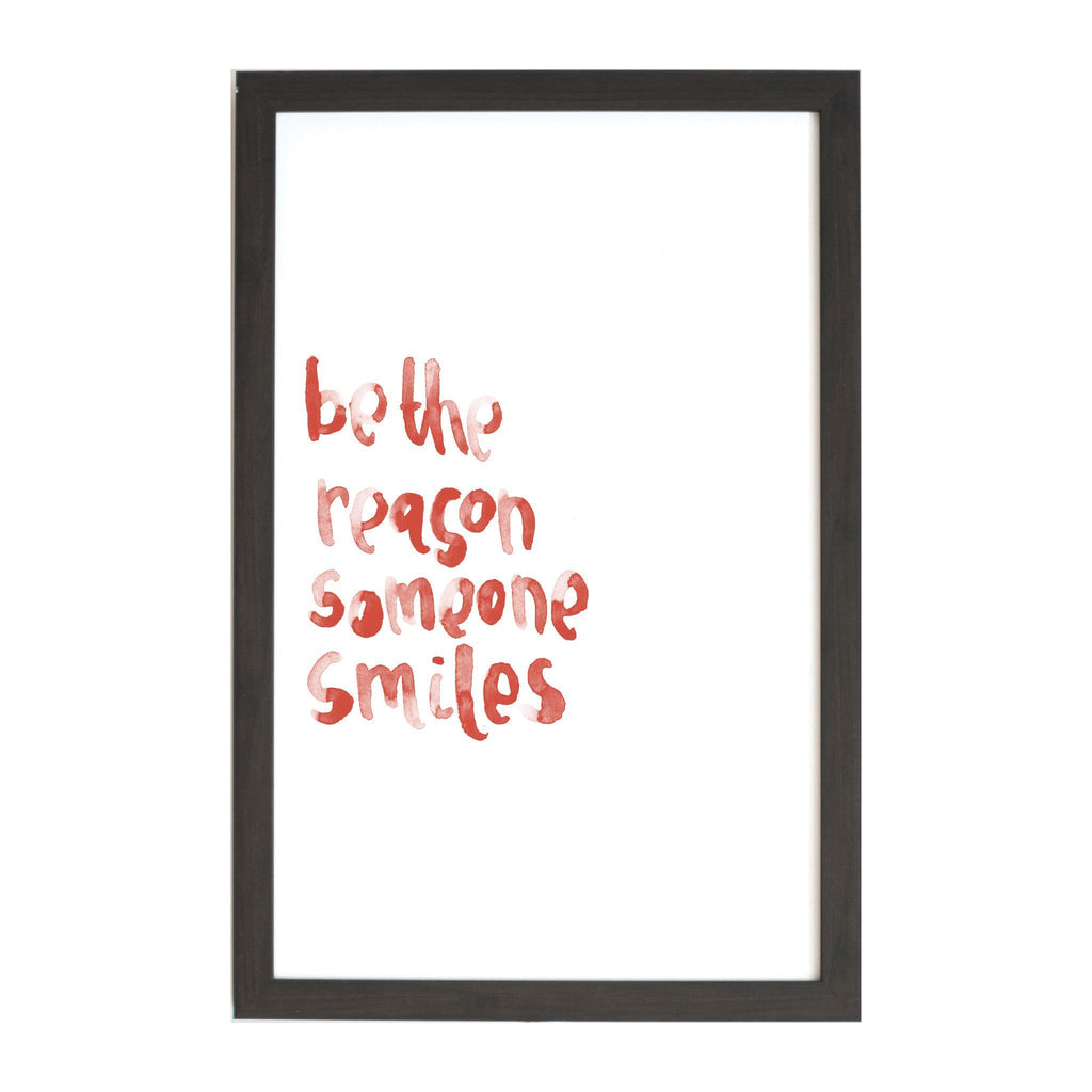 Watercolor Be the Reason Magnet Board