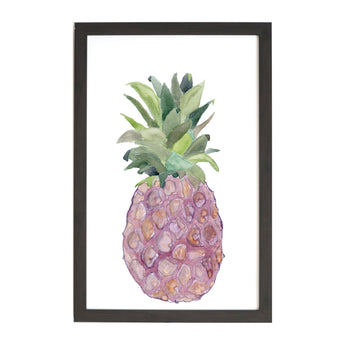 Petal Lane Home Watercolor Pineapple Modern and Trendy Magnet Board
