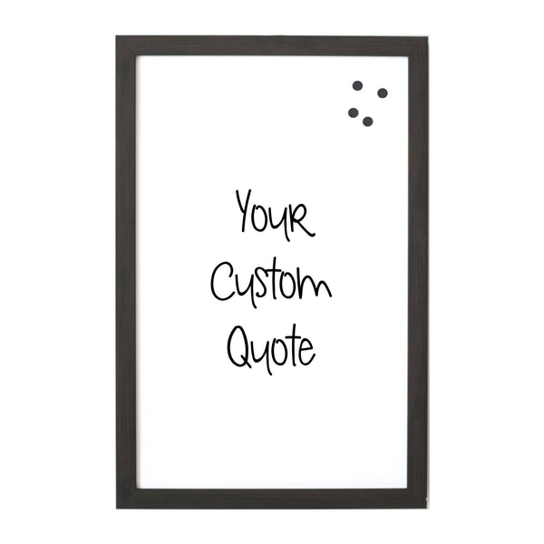Custom Quote, Name, Letters, or Initials in Font 10