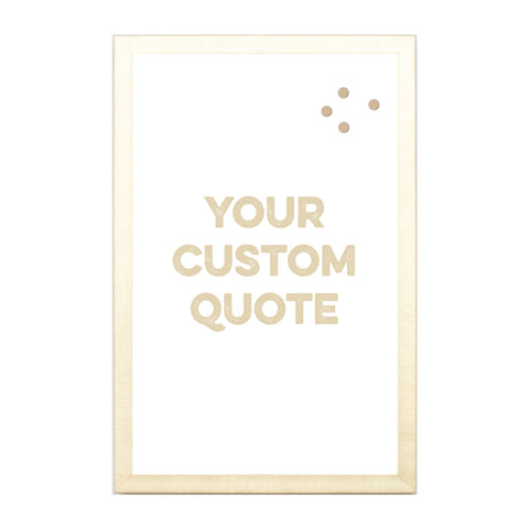 Custom Quote, Name, Letters, or Initials in Font 5