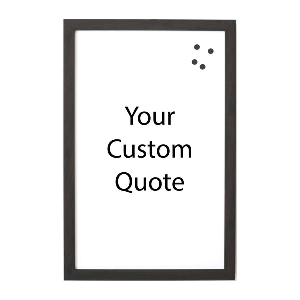 Custom Quote, Name, Letters, or Initials in Font 6