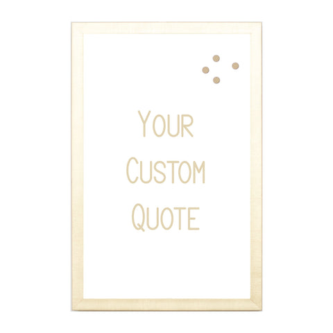 Custom Quote, Name, Letters, or Initials in Font 8